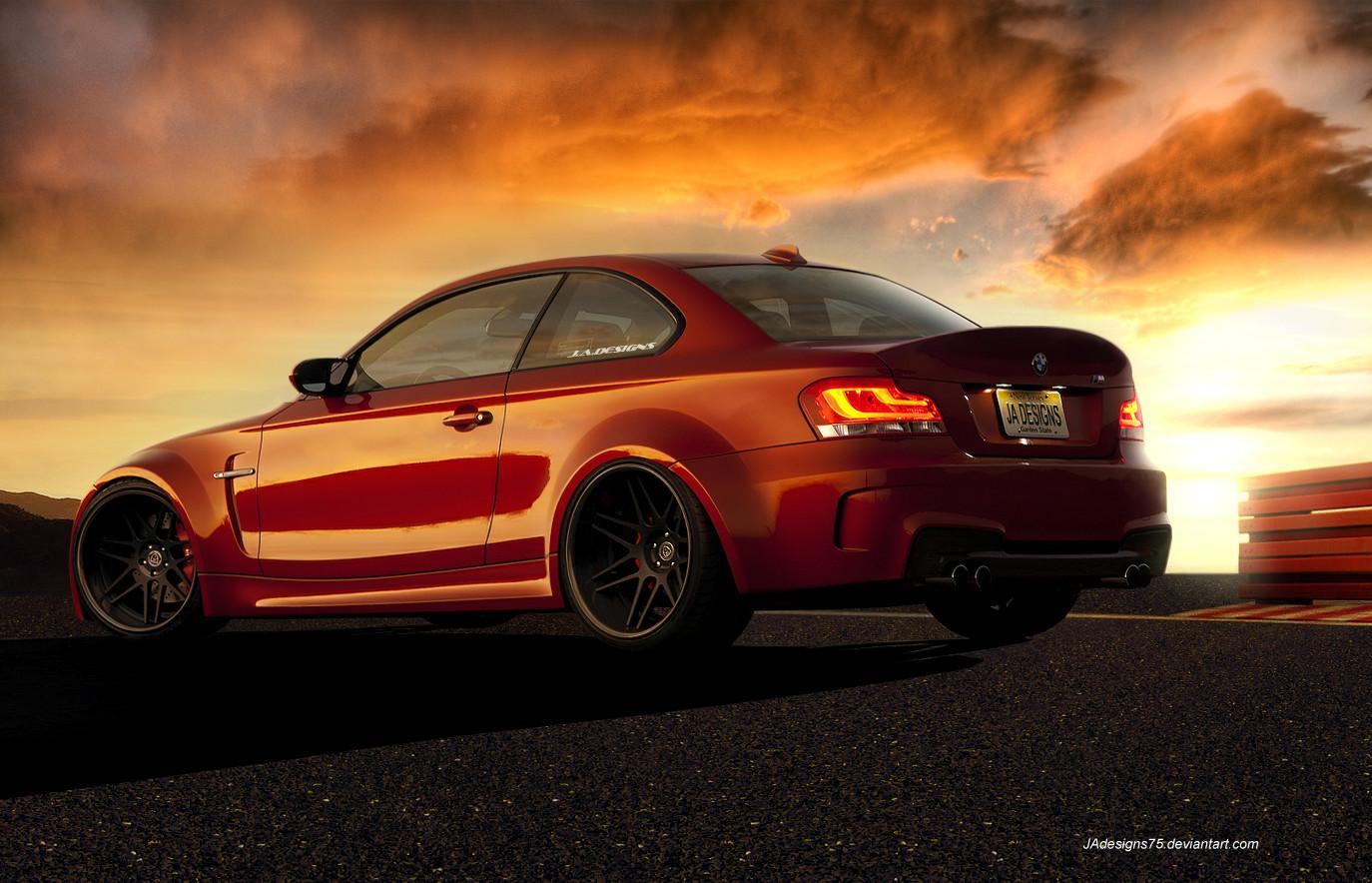 BMW 1M WideBody Render by JAdesigns75
