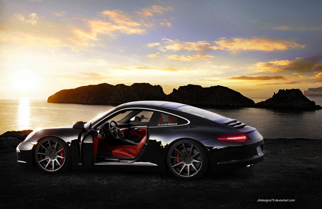 2012 Porsche 911 Carrera Render. by JAdesigns75