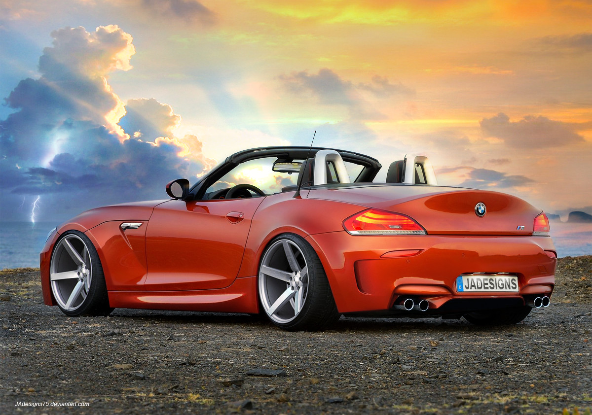 2013 BMW Z4 Cabrio Render by JAdesigns75 on DeviantArt