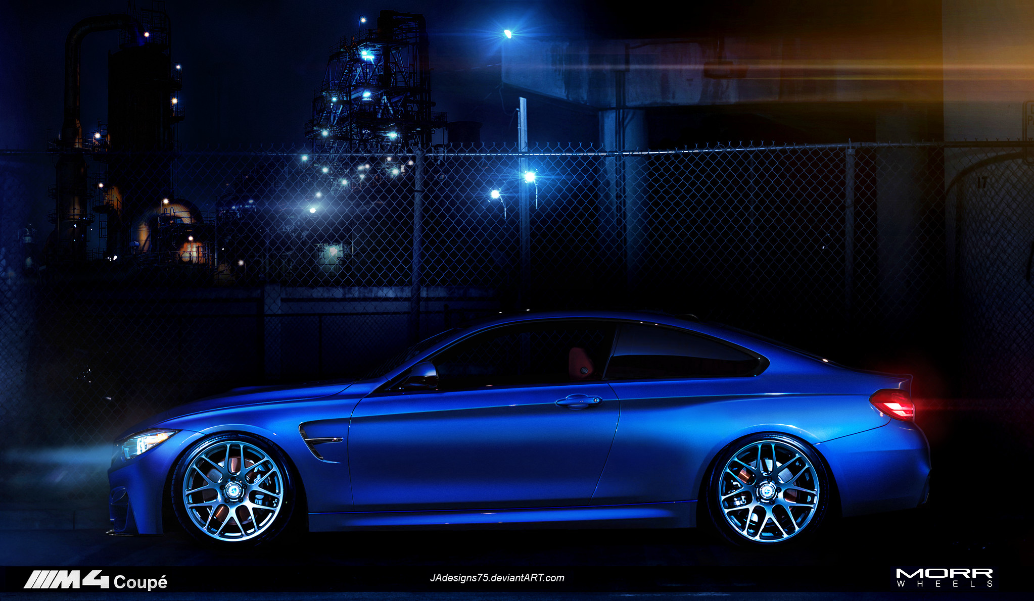 BMW M4 coupe, MORR Wheels. by JAdesigns75