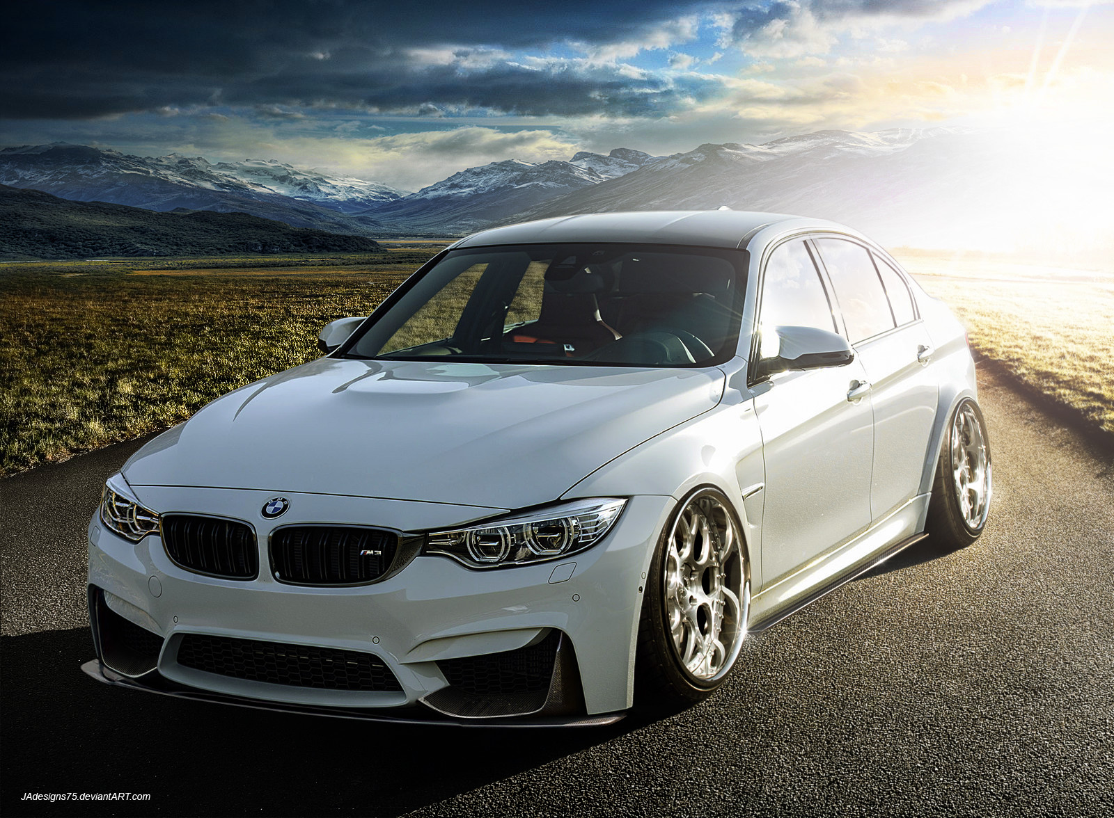 2015 Bmw M3 Wallpaper Black