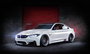BMW F82 M4 refinished.