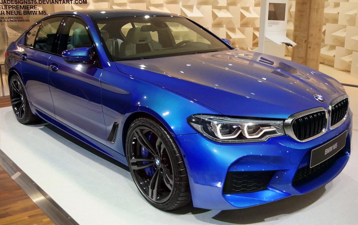 New Generation 2018 BMW F90 M5