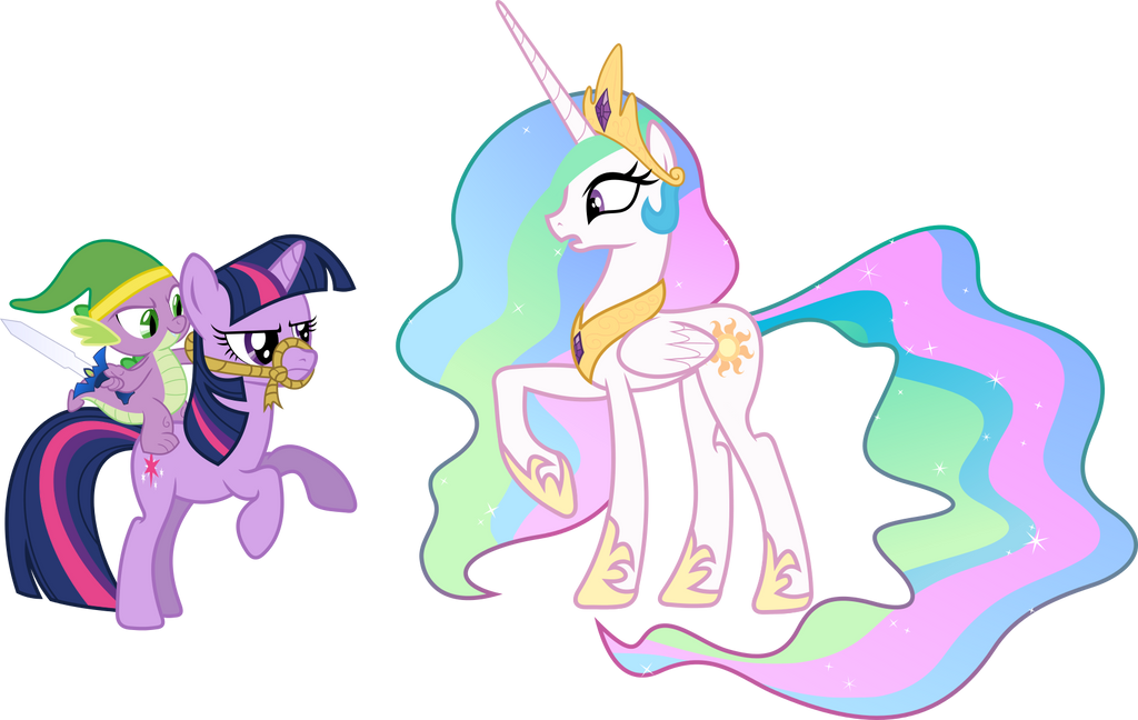 Well Excuuuse Me Princess Celestia By Dolenore On DeviantArt