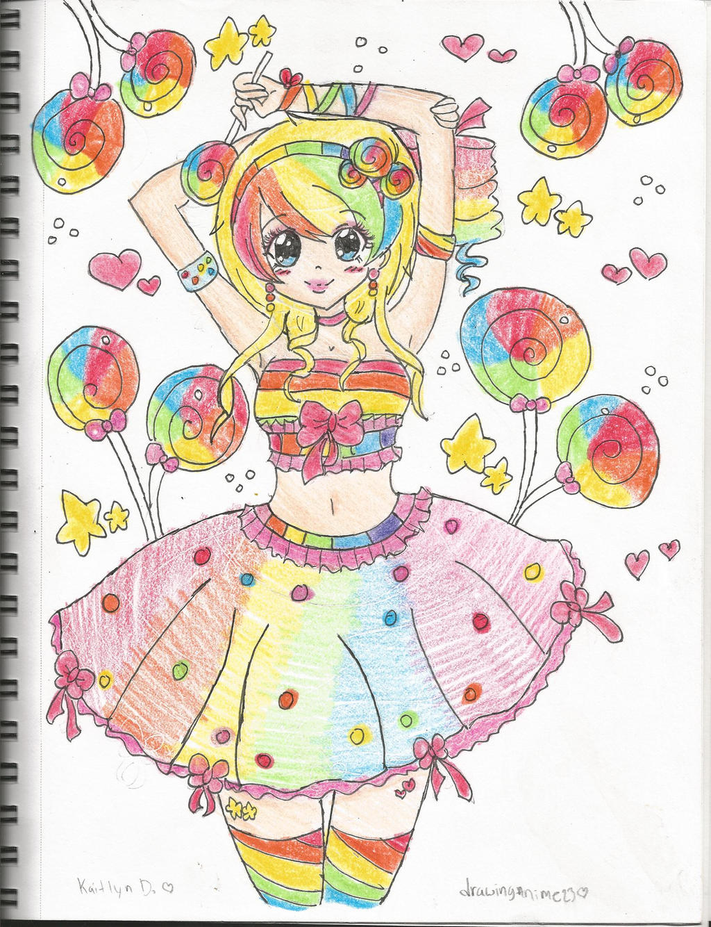 Candyland by Chibii-chii on deviantART