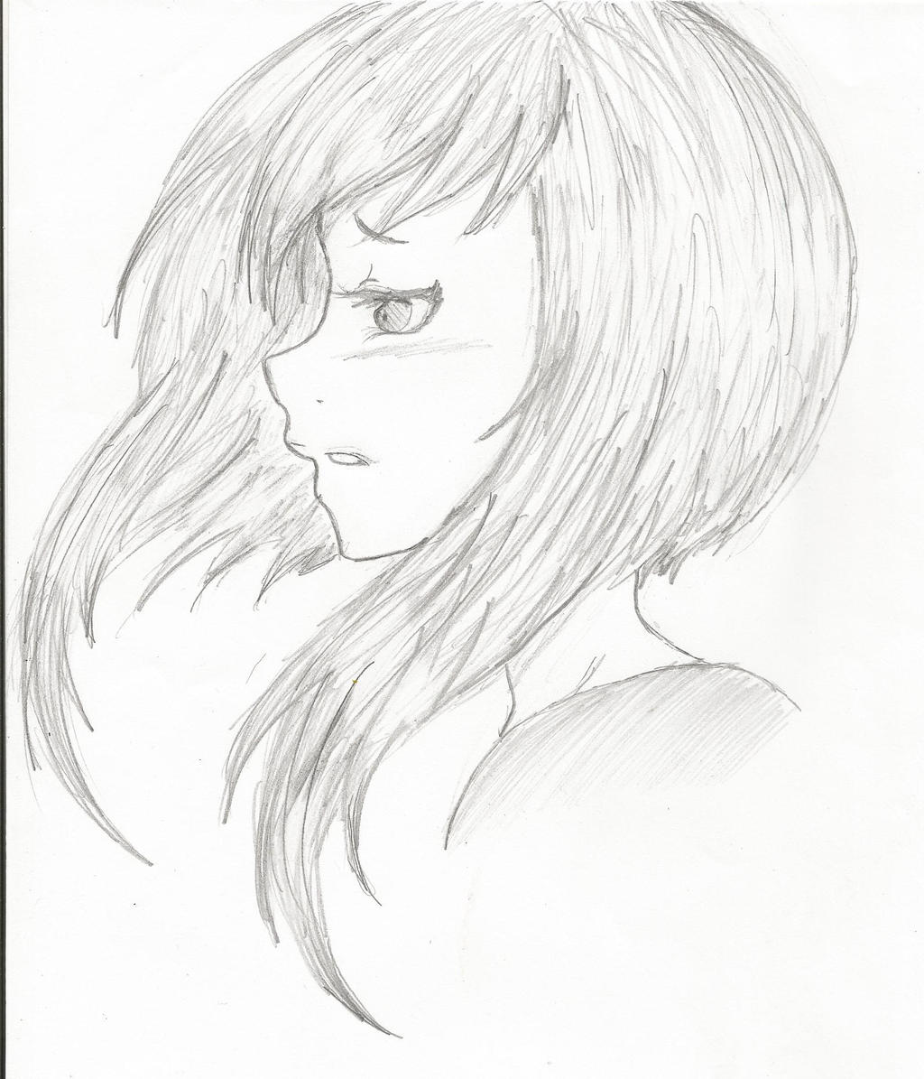 Anime Face Side View S...