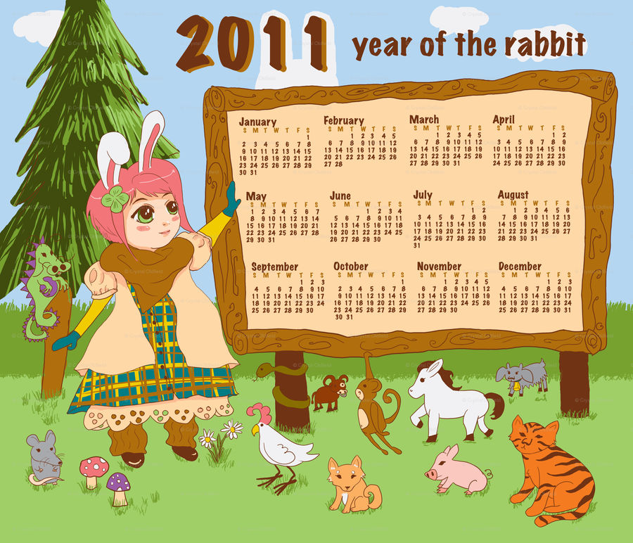 A good year to be a bunny...