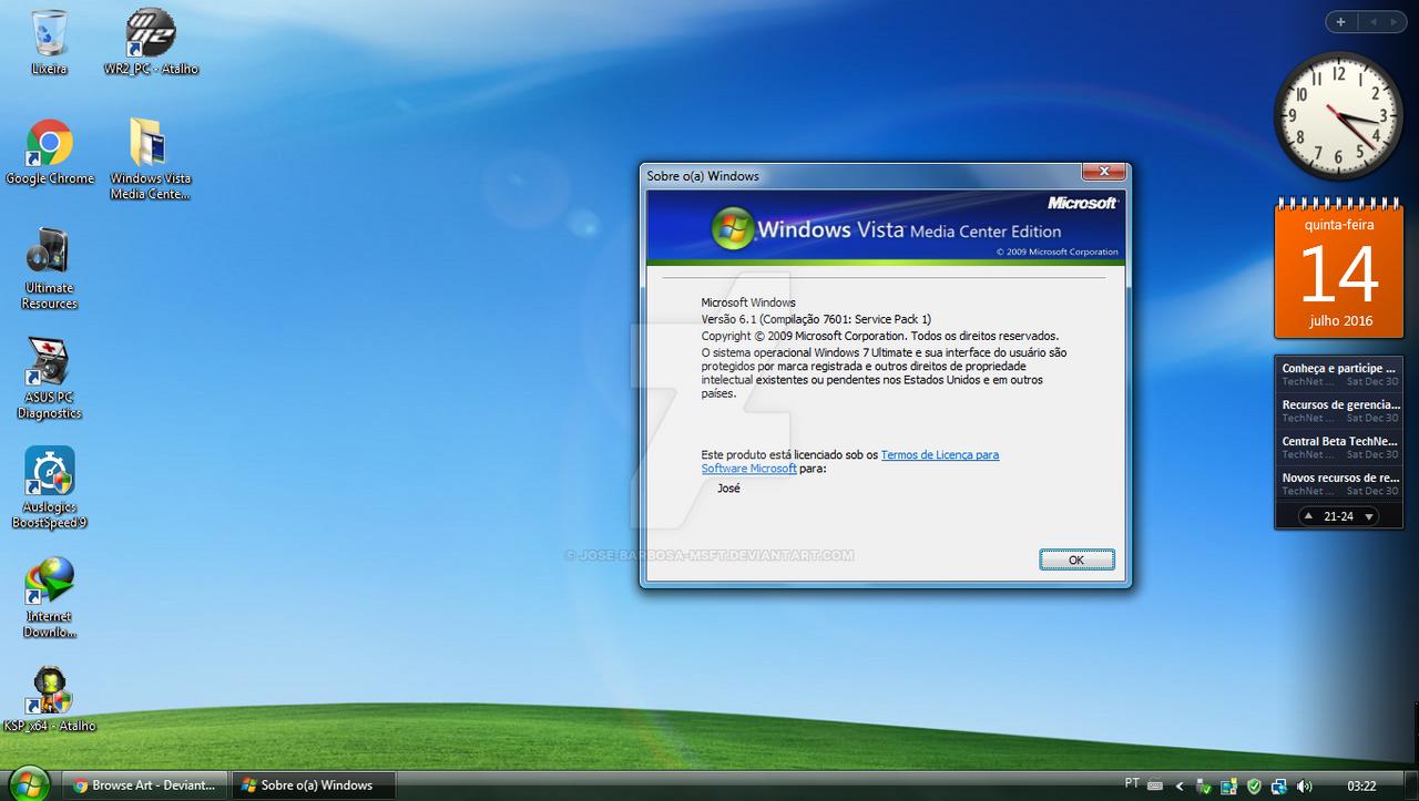 Windows media centre for vista download.