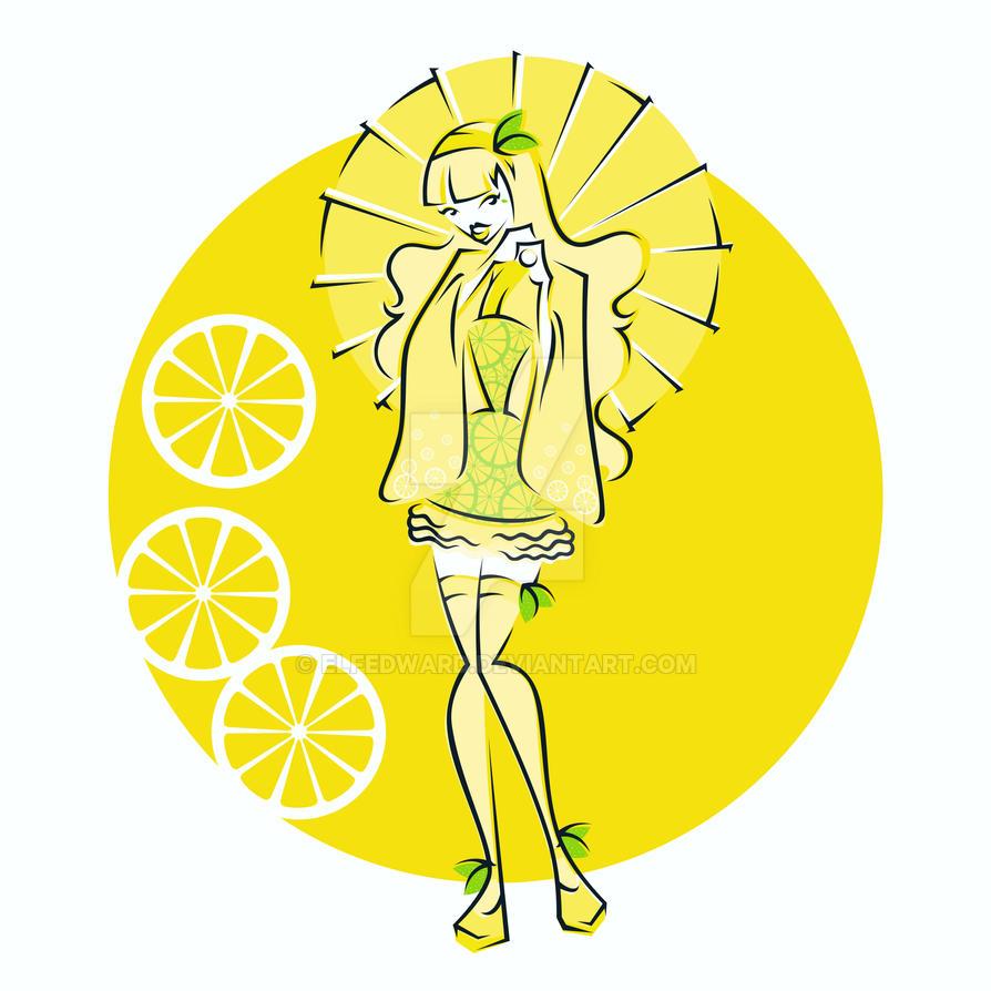 Harajuku Fruits - Lemon by Elfedward