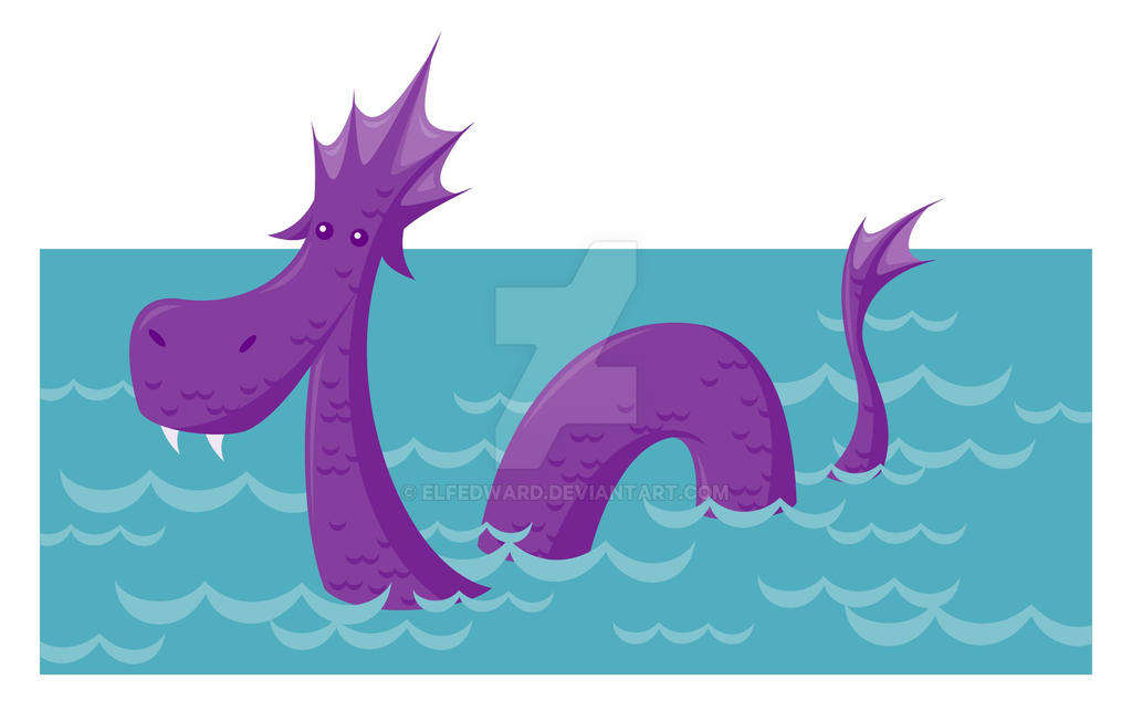 Fantastical Creatures Series - Sea Serpent by Elfedward