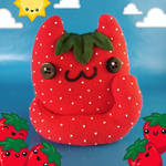 Clawberry Cat Food Plush