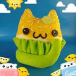Lemon Catcake Cat Food Plush