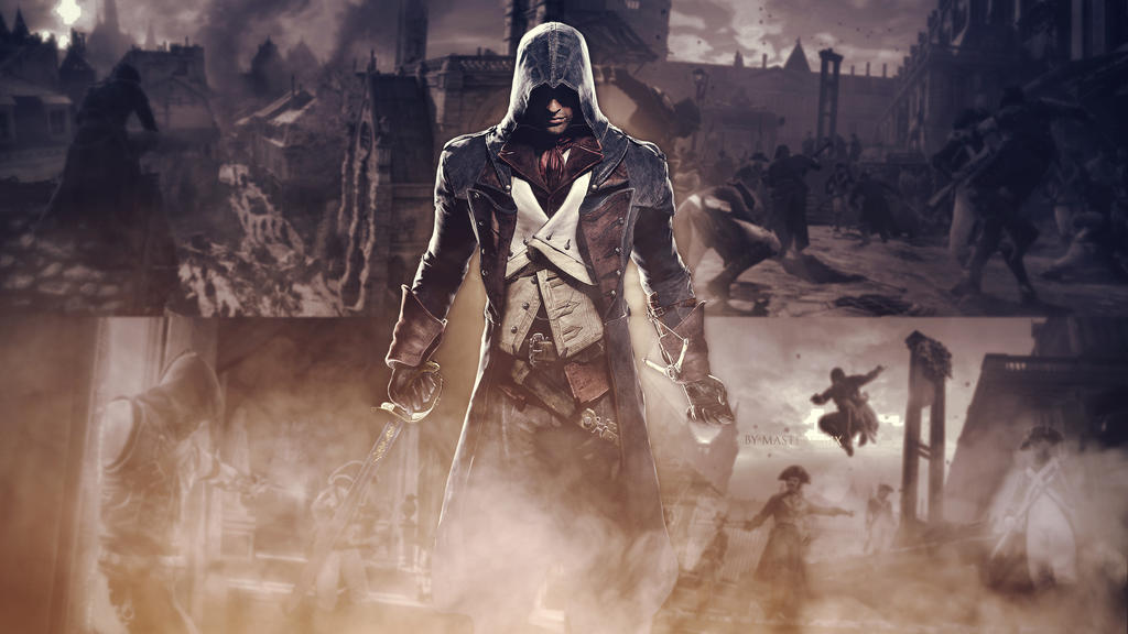 Assassins creed unity wallpaper 1440p by mastersebix on - Assassin s creed unity wallpaper ...