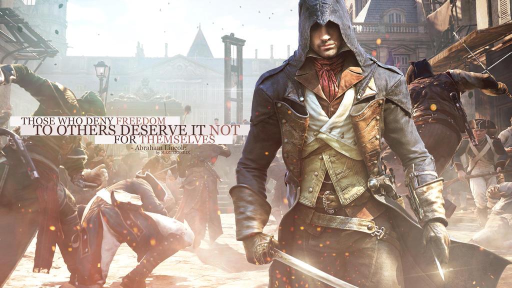 Assassins Creed UNITY (Wallpaper 1440p