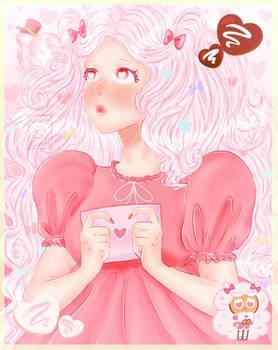 cotton candy cookie- Cookierun