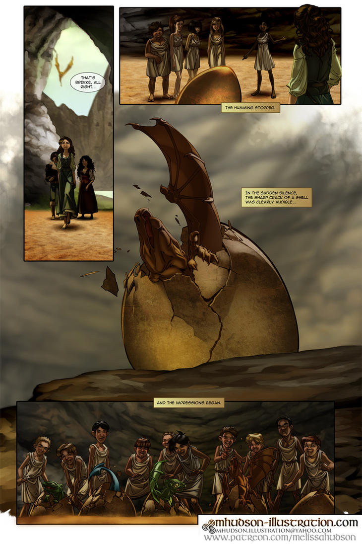 Dragonriders Of Pern Fancomic The Impression Pg8 By