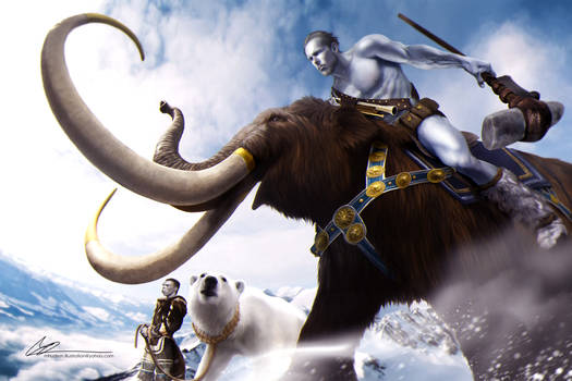 Mammoths and Ice Giants - Age of Aether