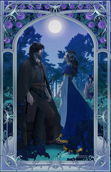 Beren and Luthien commission