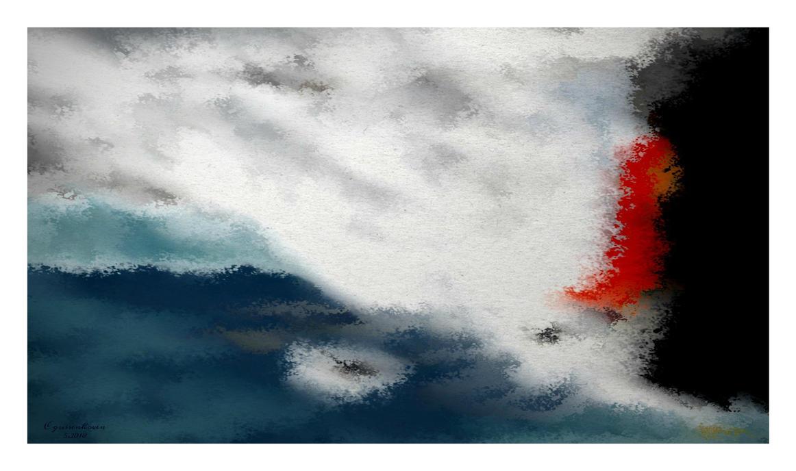 Lava Meets Ocean by c55m
