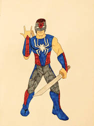 Spider-Man design by a student