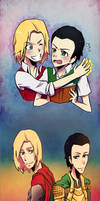 You're my brother, and I love you... by NarumyNatsue