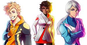 Pokemon Go Teams by NarumyNatsue