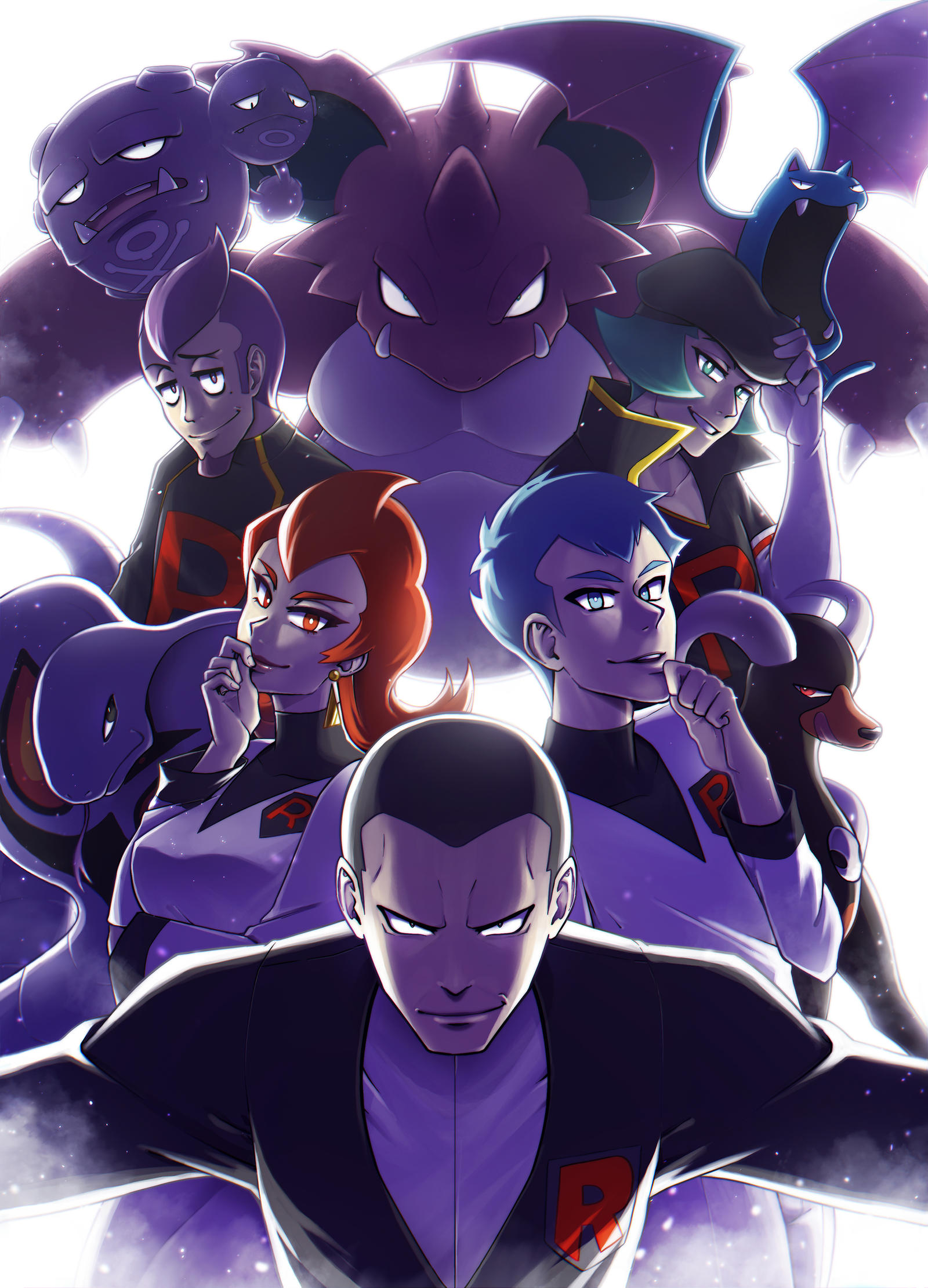 Team Rocket by NarumyNatsue