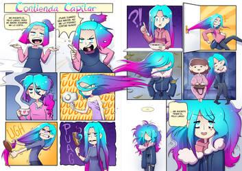 Hair Struggles by NarumyNatsue
