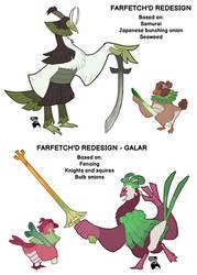 Farfetch'd line redesign