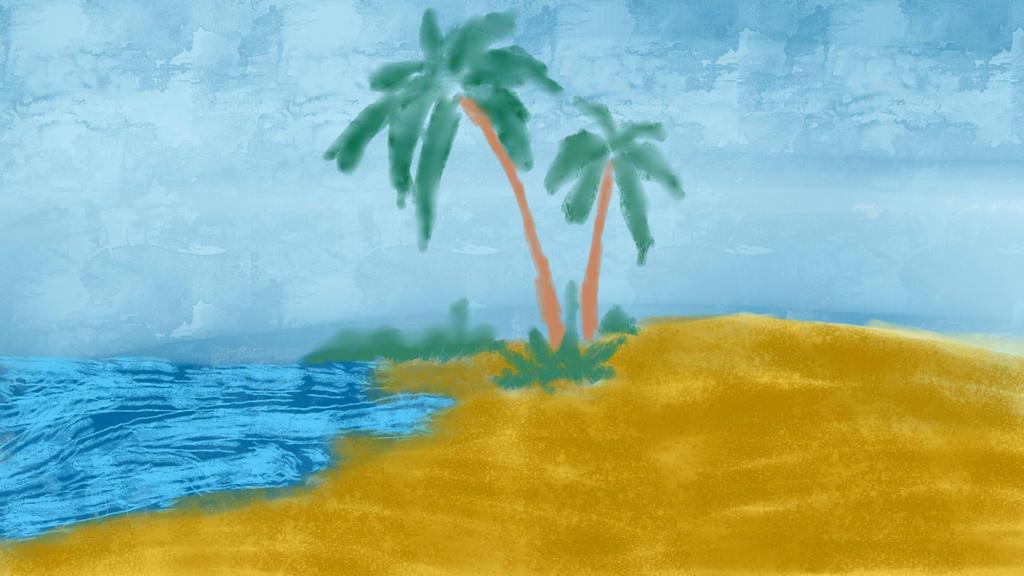 Beach by amberfireheart