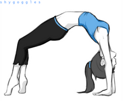 Wii Fit Trainer by Noburuu