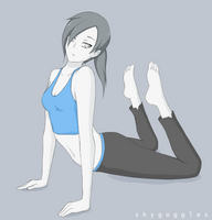 Wii Fit Trainer 2 by Noburuu