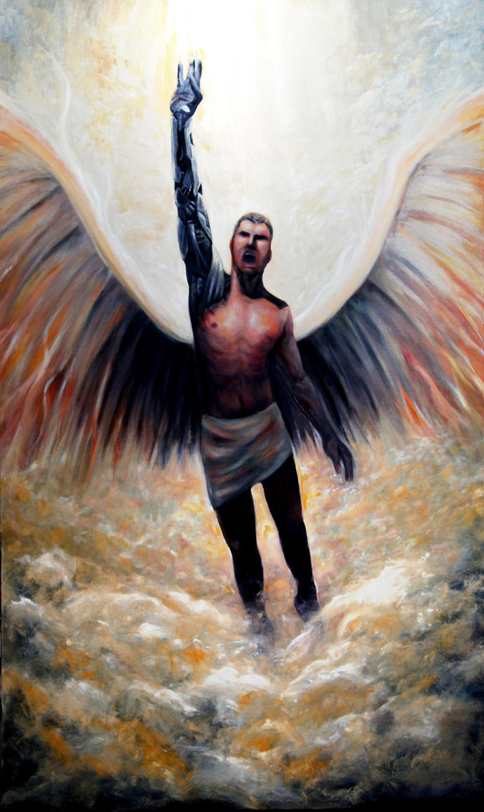 The flight of Icarus. This is a Greek myth. Icarus is ...   Icarus Paintings Involving