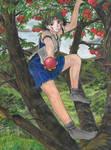 San on a tree (2)