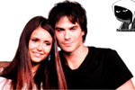 Damon and Elena Render by fvckfdaname