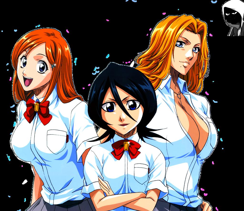 Rukia and orihime hentai