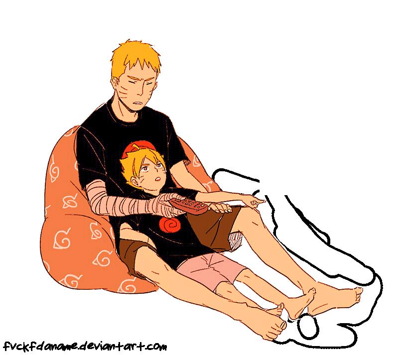 Reglas de Afiliación  Naruto_and_boruto_render_by_fvckfdaname-d8yas8o