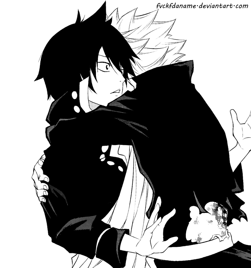 Natsu and Zeref by fvckfdaname on DeviantArt