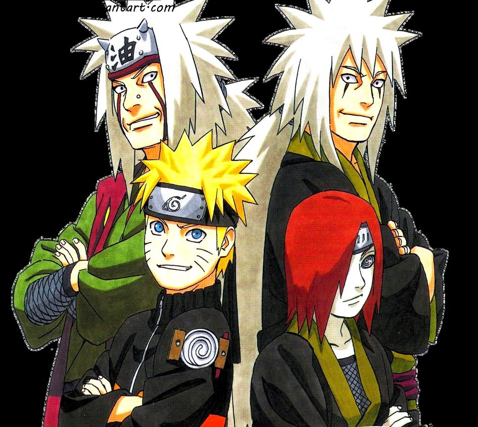 Naruto, Jiraiya...
