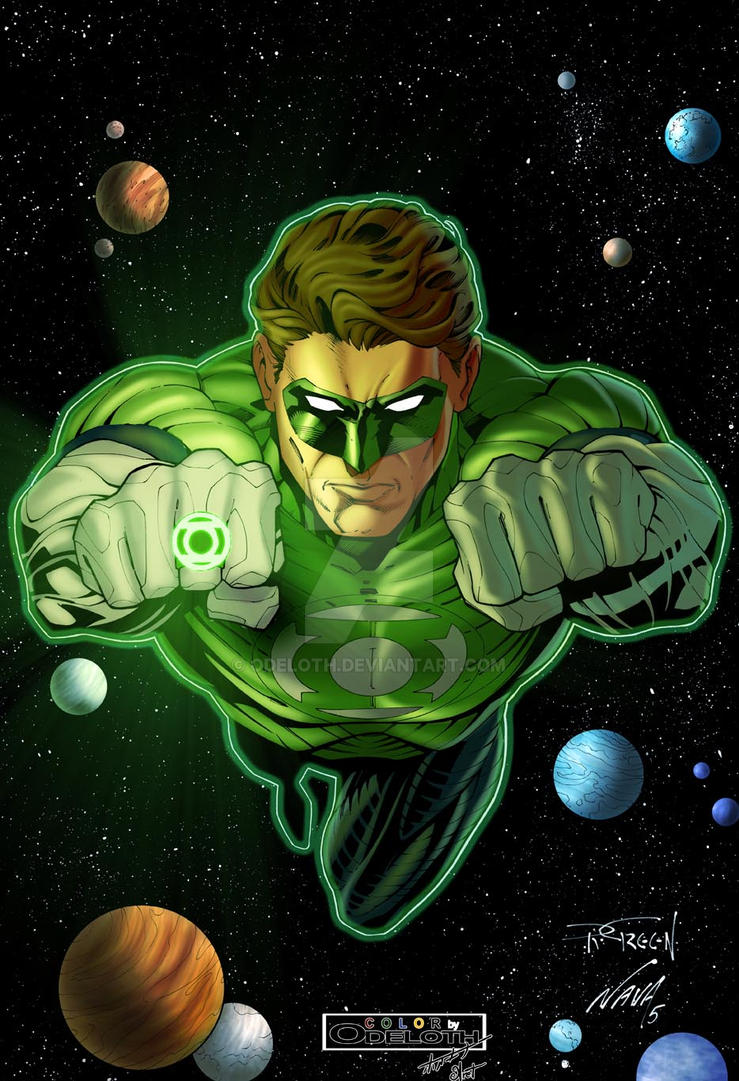 Green Lantern Hal Jordan by odeloth on DeviantArt