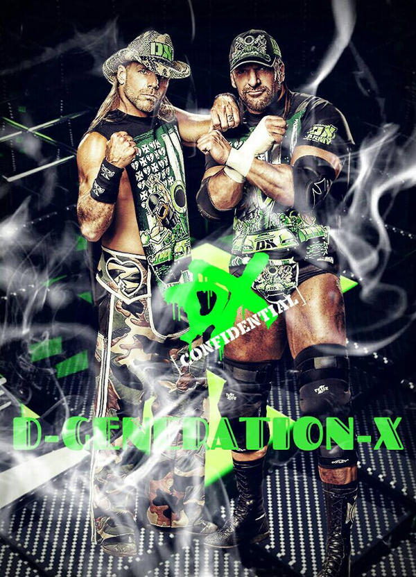 D Generation X DX Custom Poster By CaqybKhan1334