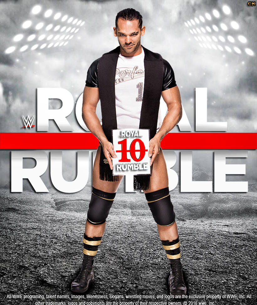 Royal Rumble 2017 Poster Ft Tye Dillinger. by CaqybKhan1334