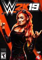 WWE 2k19 Cover ft. Becky Lynch. by CaqybKhan1334