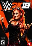WWE 2k19 Cover ft. Becky Lynch.