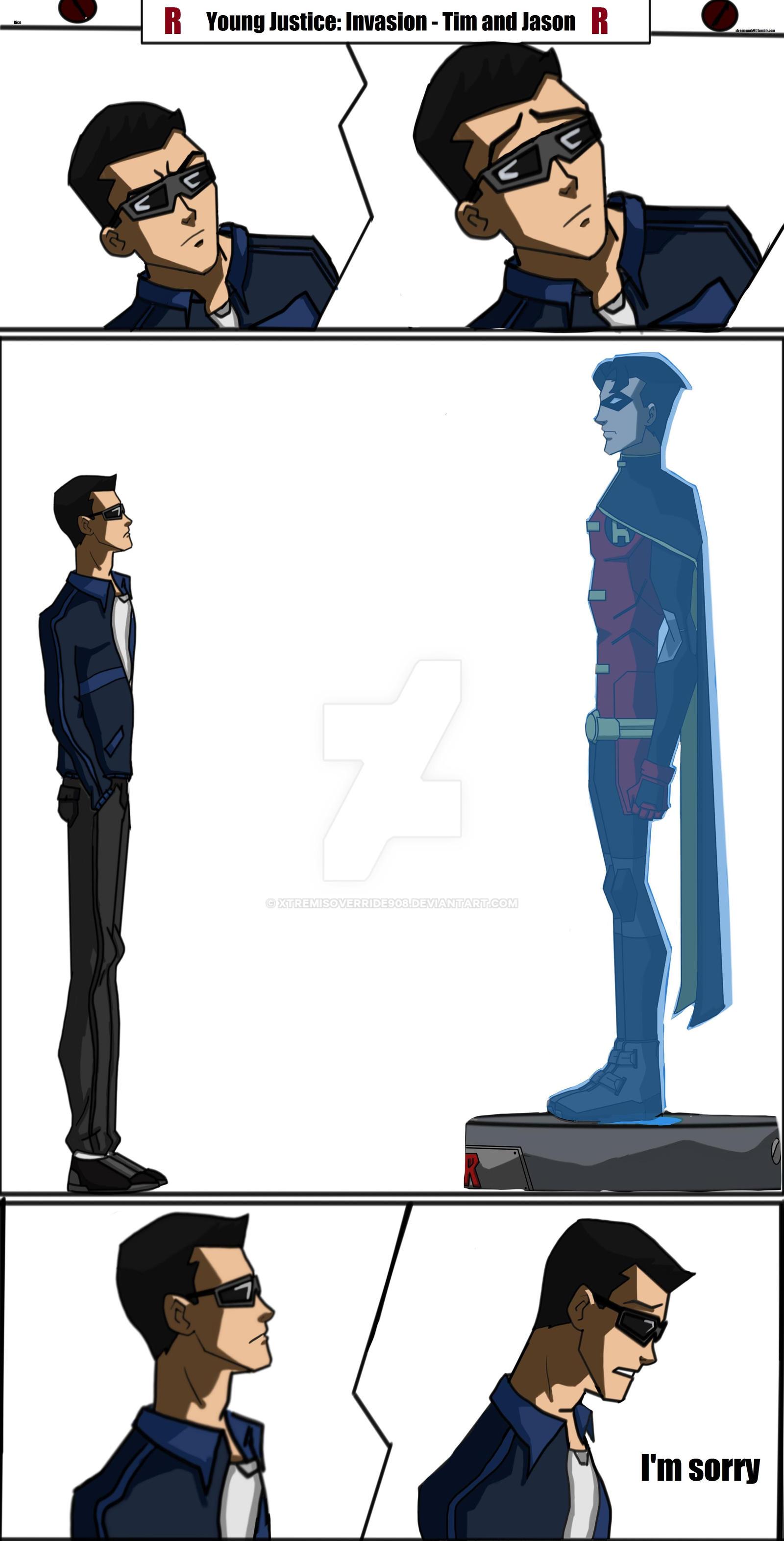 YJ short Comic - Tim Drake/Jason Todd - Invasion by ...