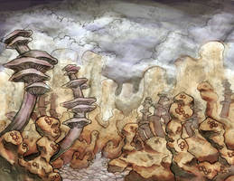 Alien Landscape by maledictus