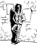 Goth rocker