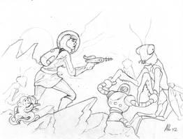 Astrogirl sketch