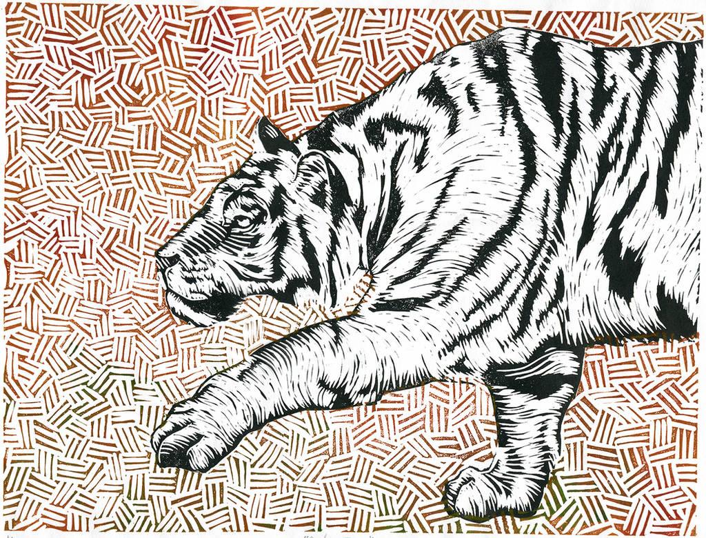 Panthera Tigris by maledictus