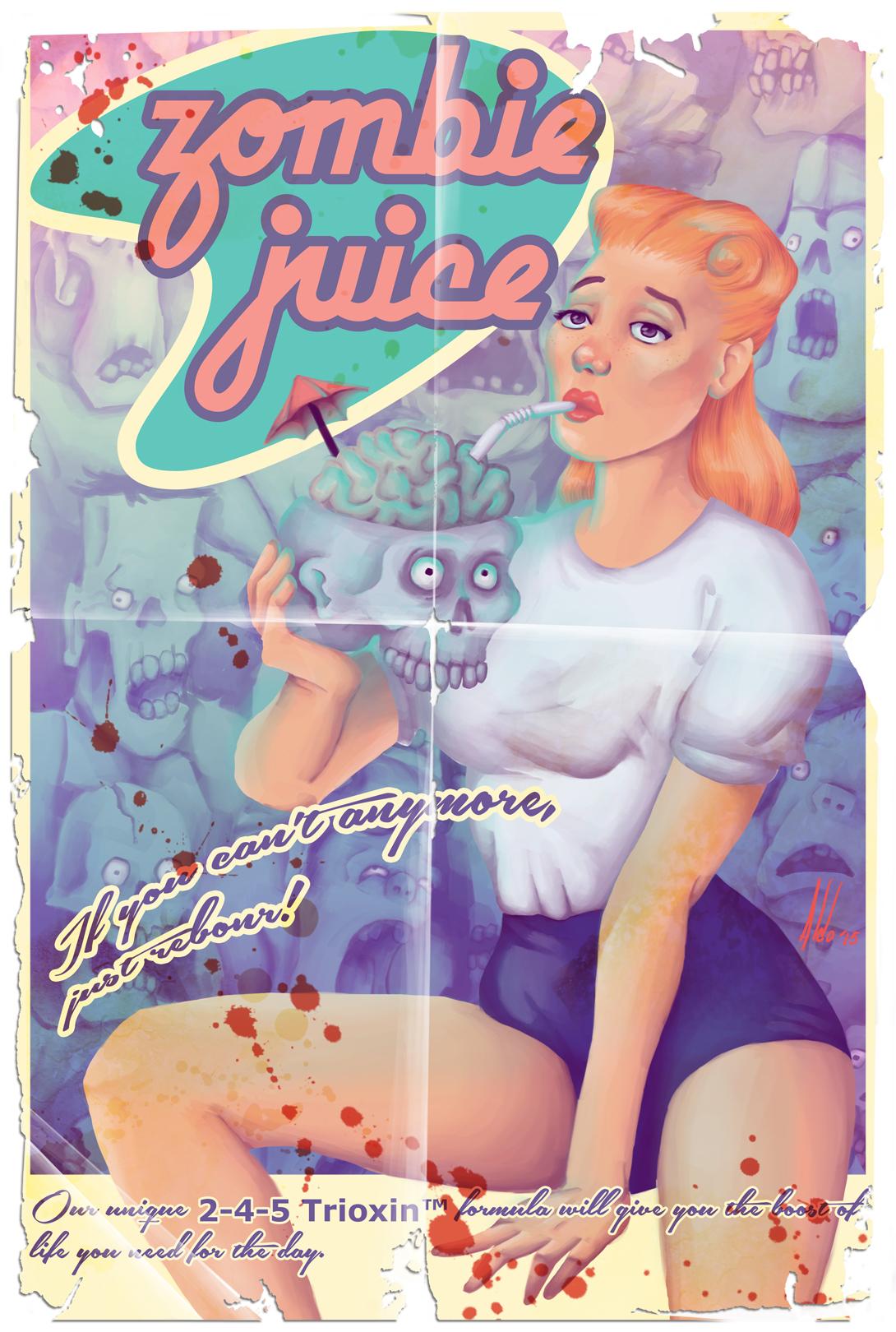 Zombie Juice by maledictus
